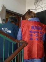 Профилактика пожарной безопасности  с поквартирным обходом.
