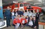 В Волжске прошло зимнее Первенство по пожарно-спасательному спорту
