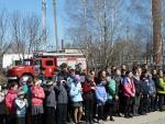 Проведение акции по противопожарной безопасности в рамках «Всероссийского открытого урока по ОБЖ» и «Дня открытых дверей в  ВДПО».