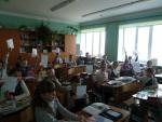 Акция «Безопасный Новый год » в школах города .