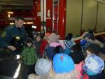 Экскурсия в пожарной части  для первоклассников.